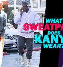 What Sweatpants Does Kanye Wear